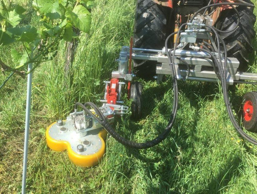 Verzicht auf Herbizide dank neuer Maschine