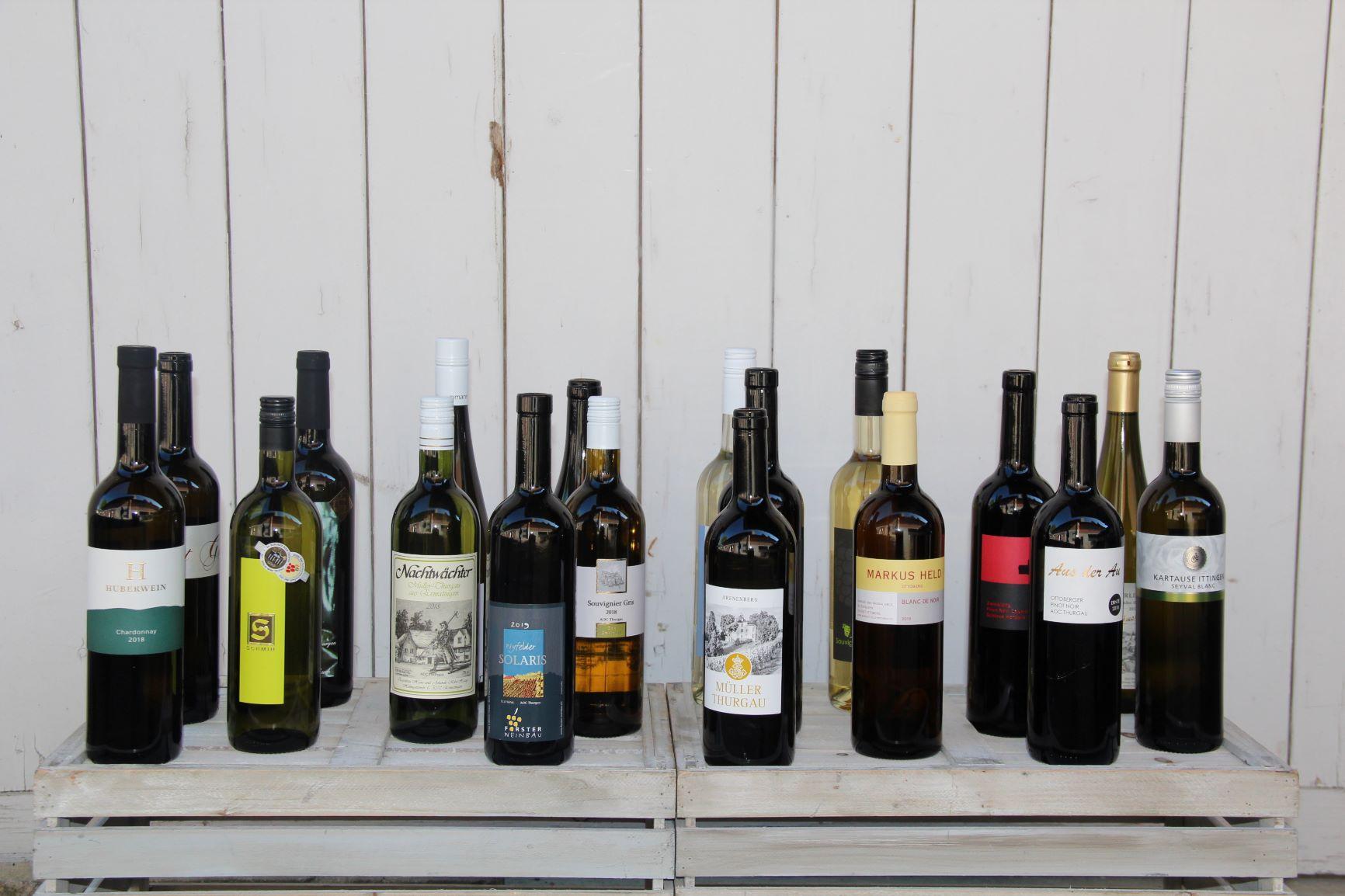 Thurgauer Weine zu Hause degustieren